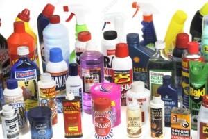 اسید ها در شوینده های خانگی