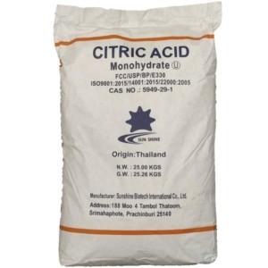 سیتریک اسید